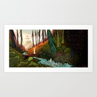 Watership Down (II) Crop Art Print