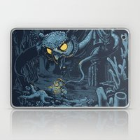 Defender of the Deep  Laptop & iPad Skin