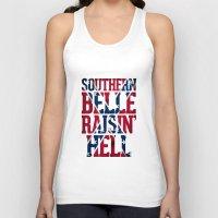 Southern Belle Raisin He… Unisex Tank Top