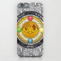 iPhone Cases featuring Sailor Moon - Crystal Transformation Brooch by Yue Graphic Design
