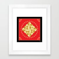 Fleuron Composition No. 149 Framed Art Print