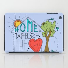Home is Where the Heart Is iPad Case