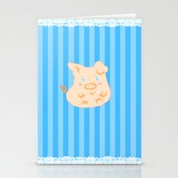 This little piggy.. Stationery Cards