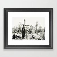 Volcanic Aftermath Framed Art Print