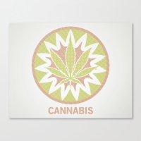 The Cannabis Case. Canvas Print
