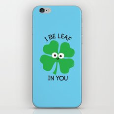 Cloverwhelming Support iPhone & iPod Skin