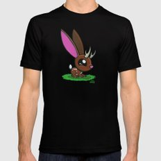 Baby Jackalope Mens Fitted Tee Black SMALL