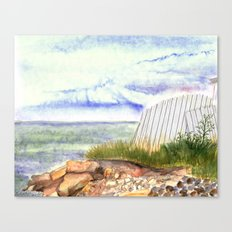 little shore Canvas Print