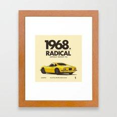1968 Framed Art Print