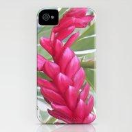 Pink Wave iPhone (4, 4s) Slim Case