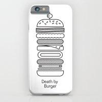 Death By Burger iPhone 6 Slim Case