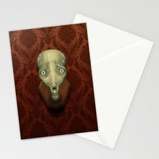 Shocked Alien Stationery Cards