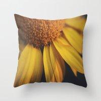 Sunflow Daze Throw Pillow