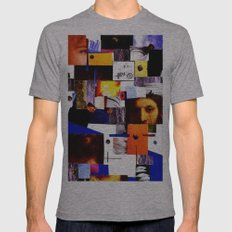 ECCE HOMO Mens Fitted Tee Athletic Grey SMALL