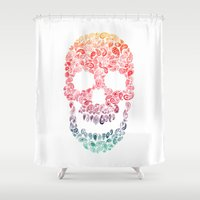 Death By Paisley Shower Curtain