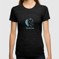 Adorable Baby Womens Fitted Tee Tri-Black SMALL