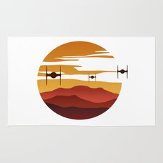 To the sunset Rug