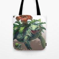 Pokemon-Venusaur Tote Bag