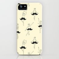 The Ballet Of Mustache iPhone (5, 5s) Slim Case