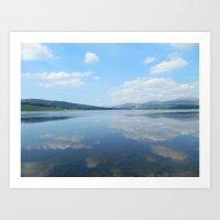 Loch Clatteringshaws SW … Art Print