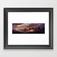 Ruins Of Jerusalem Framed Art Print
