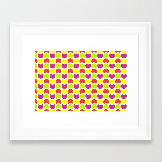 Hob Nob Citrus 5 Framed Art Print