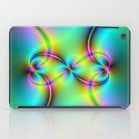 Neon Love Knots iPad Case