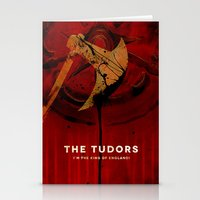 THE TUDORS Stationery Cards