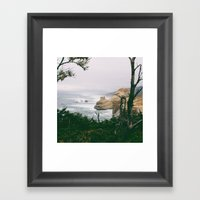 Looking North Framed Art Print