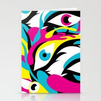 See 'em, Yikesss Stationery Cards