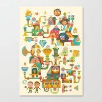 The Chipper Widget Canvas Print