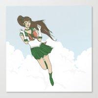 Sailor Jupiter Canvas Print