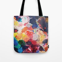 Paint Palette Tote Bag
