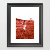 Running Free Framed Art Print