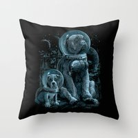 WE MISS HOME Throw Pillow