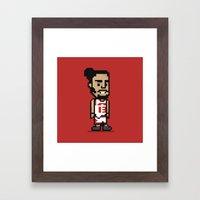 8-Bit: Joakim Noah Framed Art Print