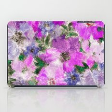 Splendid Flowers iPad Case