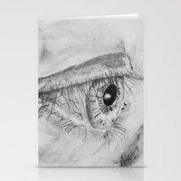 Eye Sketch Stationery Cards