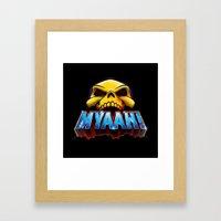 MYAAH! Framed Art Print