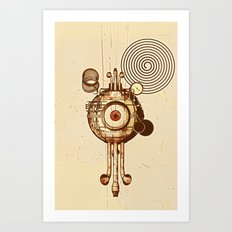 hypnotism Art Print