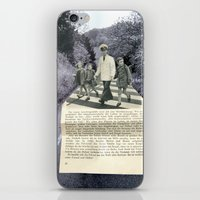 hold my hand iPhone & iPod Skin