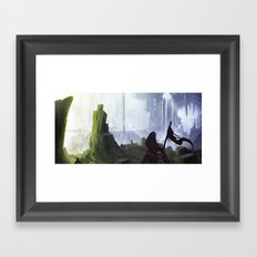 Plains of Horrath Framed Art Print