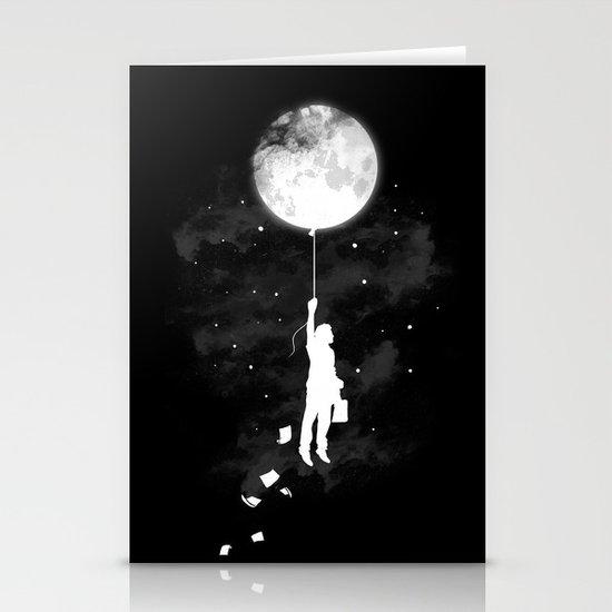 Midnight Traveler Stationery Card