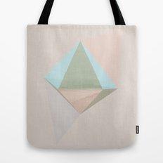 pentagonal dipyramid Tote Bag