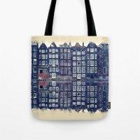 Amsterdam Watercolor And Sketch Tote Bag