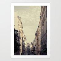 Paris Streets Art Print