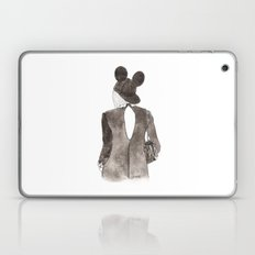 Black in Paris Laptop & iPad Skin