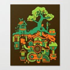 SUBterrian (Make A Wish) Canvas Print