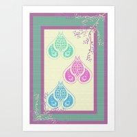 Indian Paisley Art Print