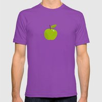 Apple 25 Mens Fitted Tee Ultraviolet SMALL